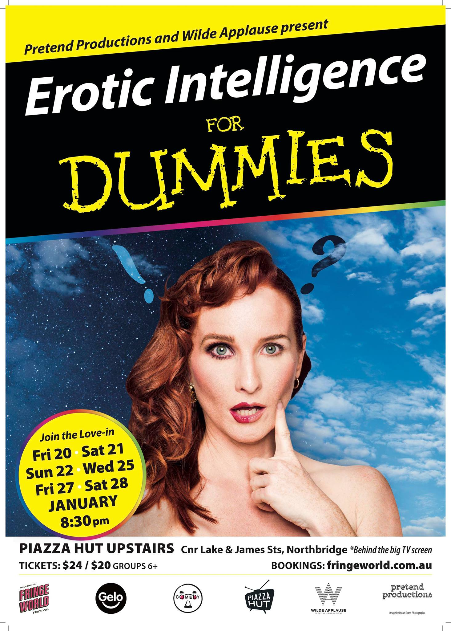 Award-winning actress and clown, Helen Cassidy, uses her comedy show Erotic  Intelligence for Dummies to take a long, hard, cross-eyed look at the ...