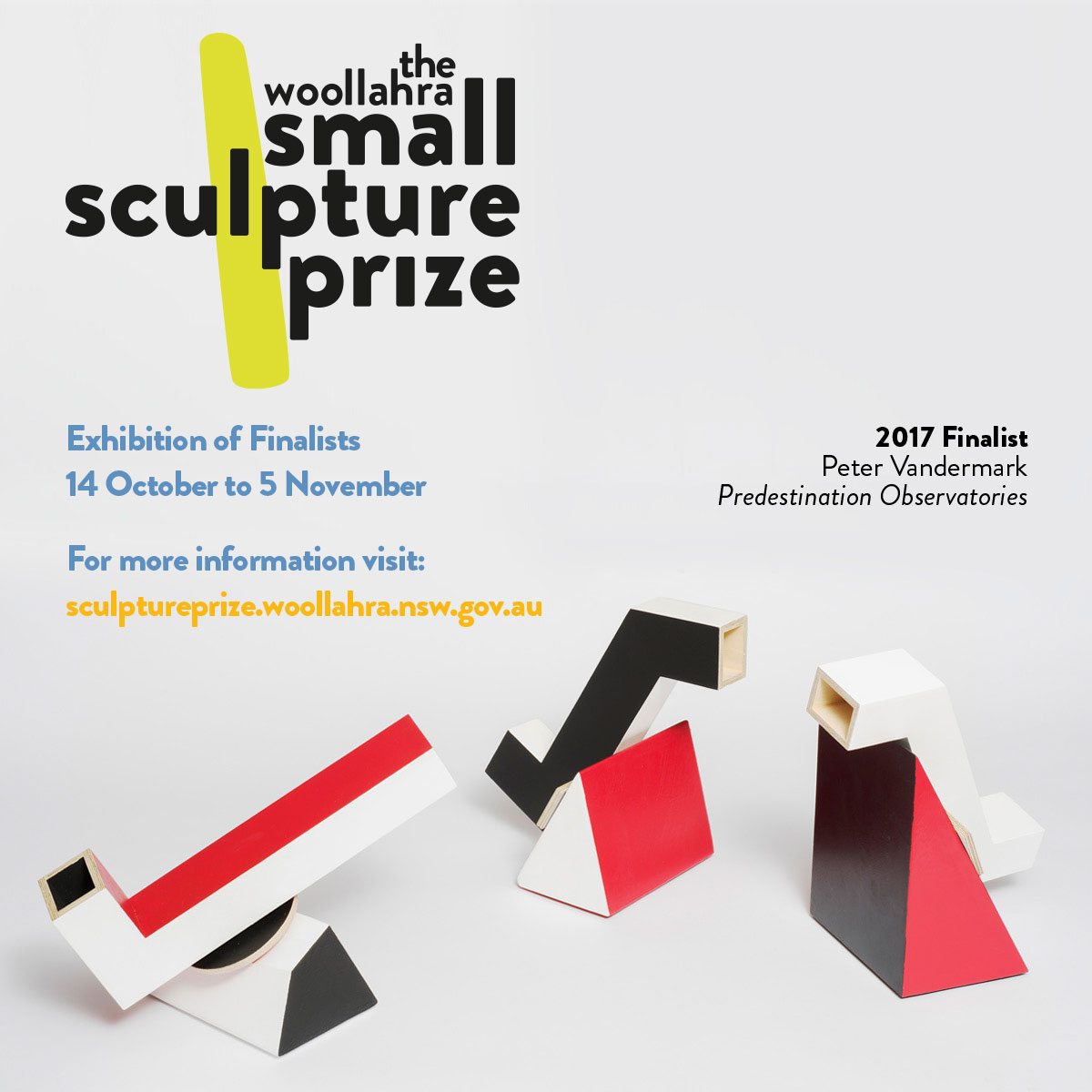 Executive Privilege By Sydney Falk: Woollahra Small Sculpture Prize Announces 2017 Finalists