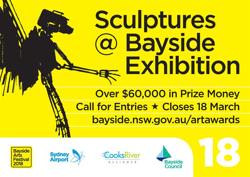 Sculptures @ Bayside 2018 - Call for Entries