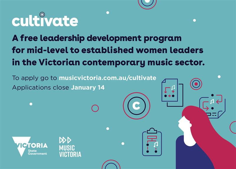 The Victorian Government in partnership with Music Victoria