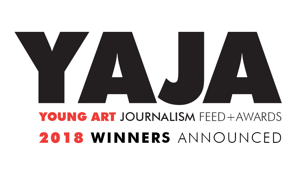 Young Art Journalism Awards 2018 Winners announced