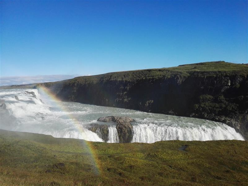 A land full of rainbows, waterfalls and sheep