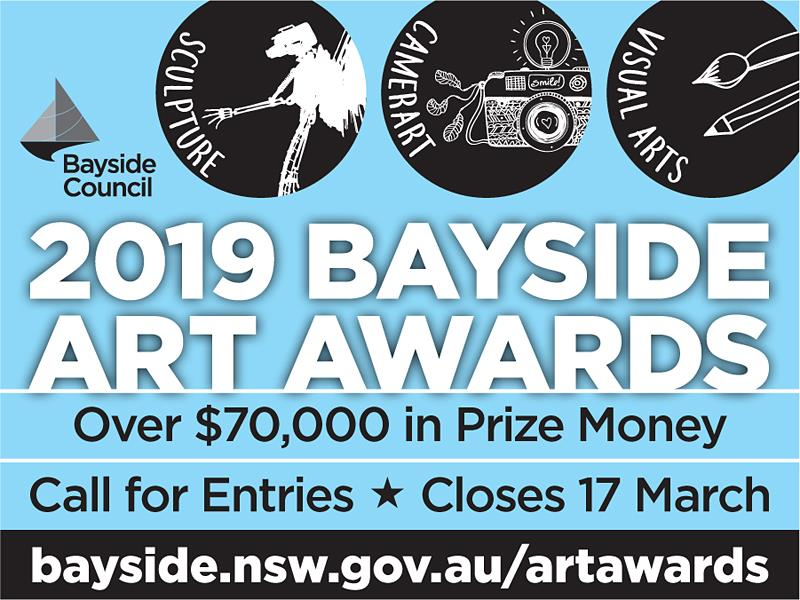 Call for Entries Bayside Art Awards 2019