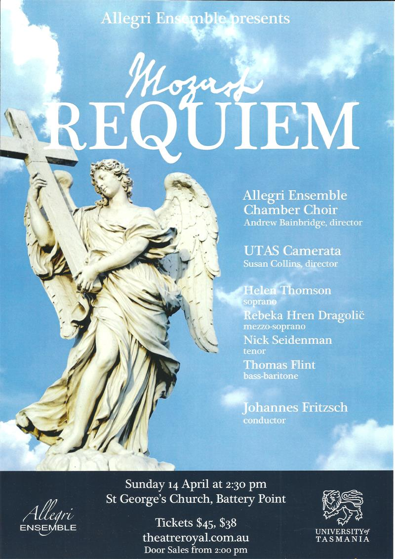 Allegri Ensemble presents Mozarts Requiem