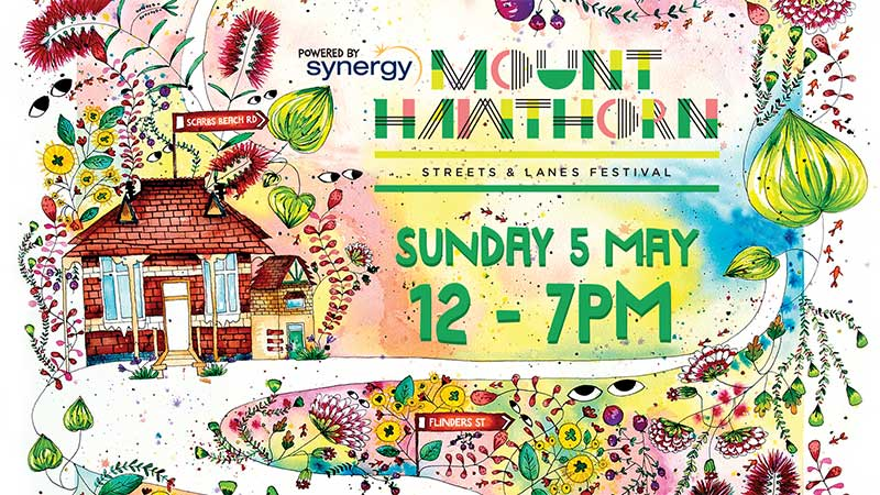 Mt Hawthorn Streets and Lanes Festival 2019