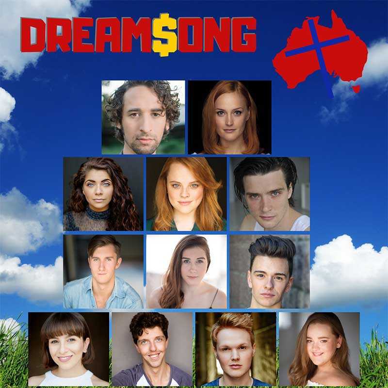 EbbFlow Theatre Co, Announces their DreamSong Cast