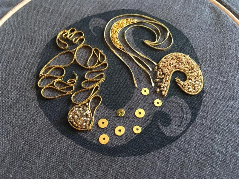 Adventures in Goldwork: Hanny Newton Workshop