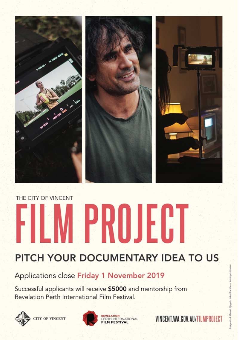 CALL FOR SUBMISSIONS - City of Vincent Film Project