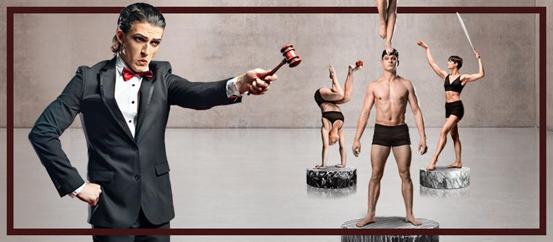 The National Institute of Circus Arts (NICA) presents Hard Sell
