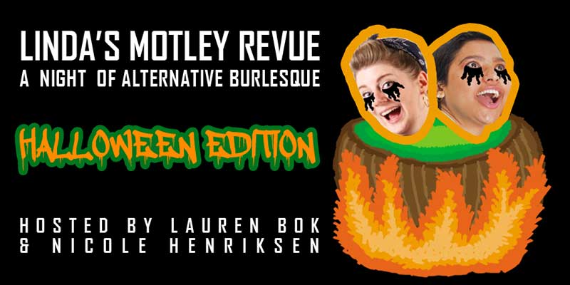 A Motley Burlesque Crew take on a Motley Revue this Halloween in Fitzroy!