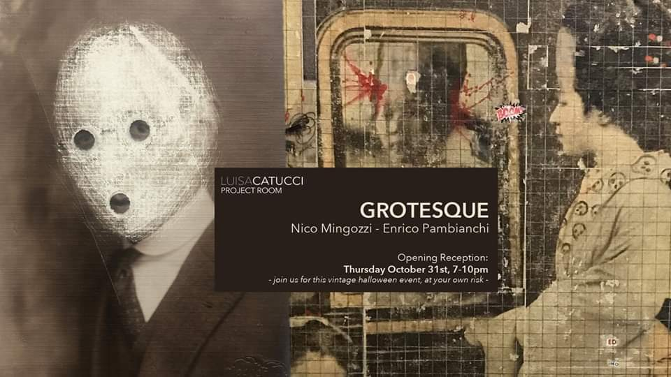 Grotesque, Halloween special with Mingozzi & Pambianchi