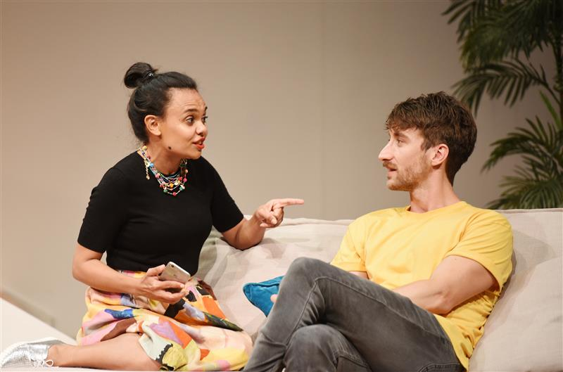 Miranda Tapsell makes Adelaide mainstage debut in Black Is The New White