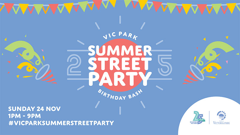 Vic Park Summer Street Party 2019