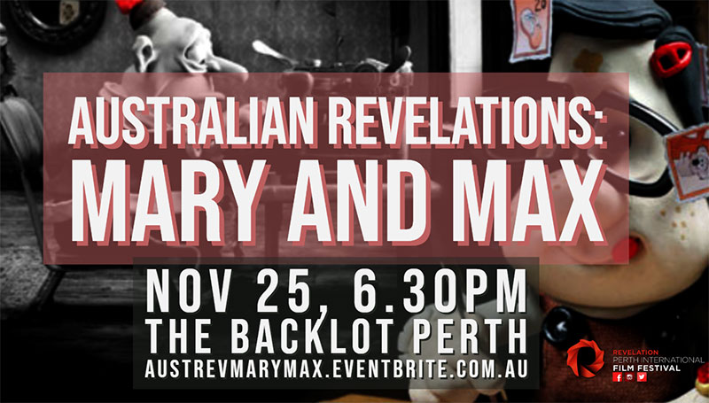 Australian Revelations: Mary and Max 10th Anniversary Screening!