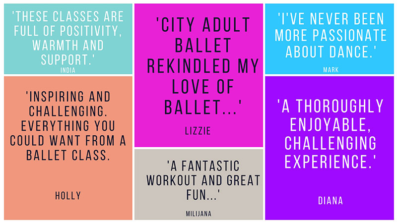 City Adult Ballet Classes in Melbourne