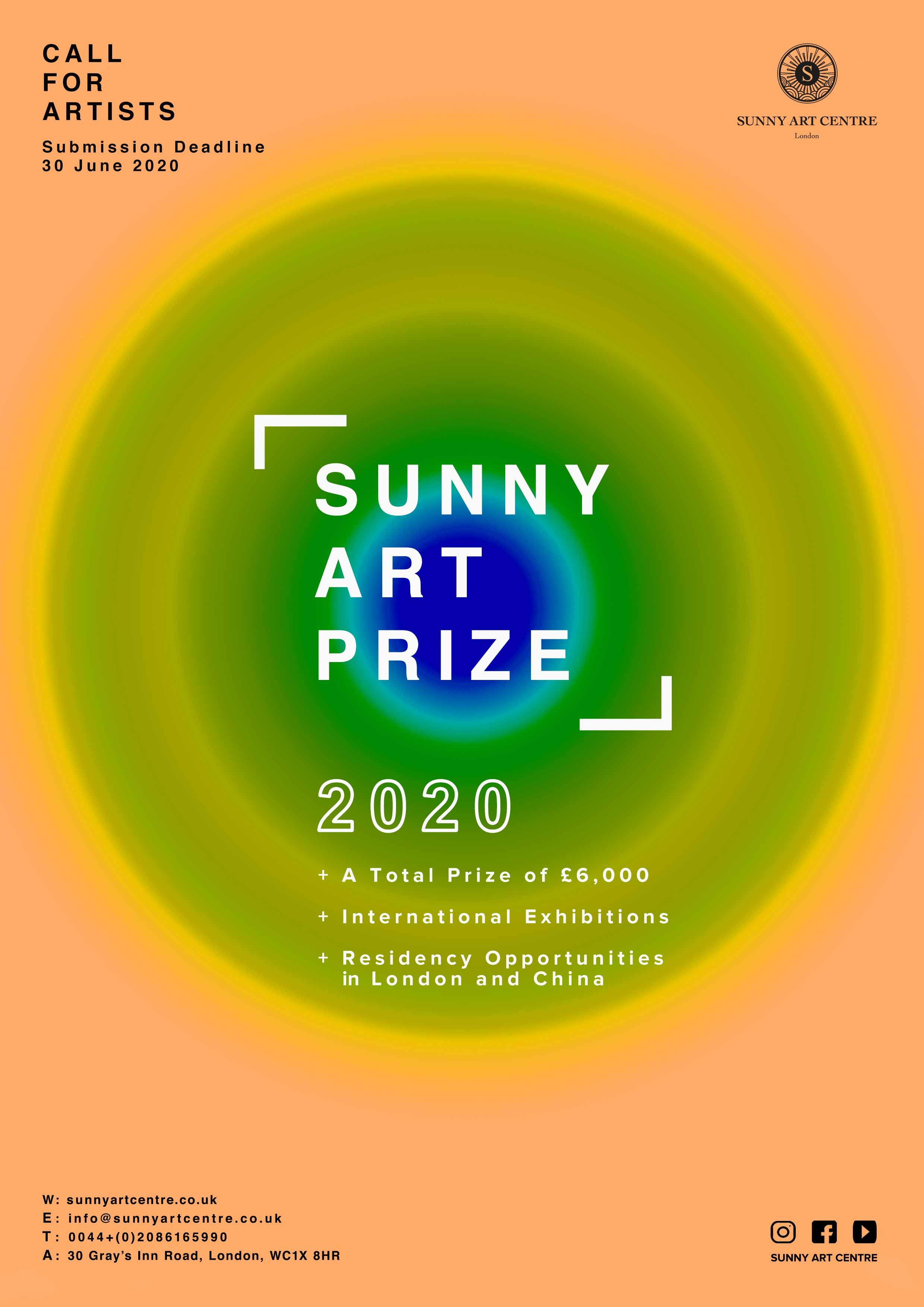 Open Call for Artists - Sunny Art Prize 2020