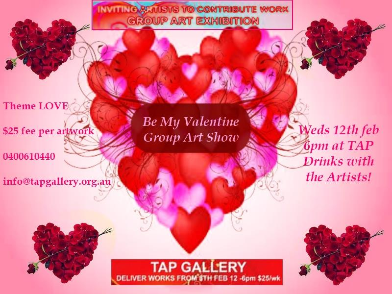 Valentine Art Show Call for Submissions