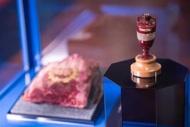 Last chance to see the Ashes Urn at State Library Victoria