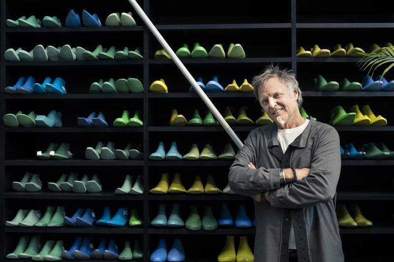 Iconic shoe designer John Fluevog is visiting Melbourne