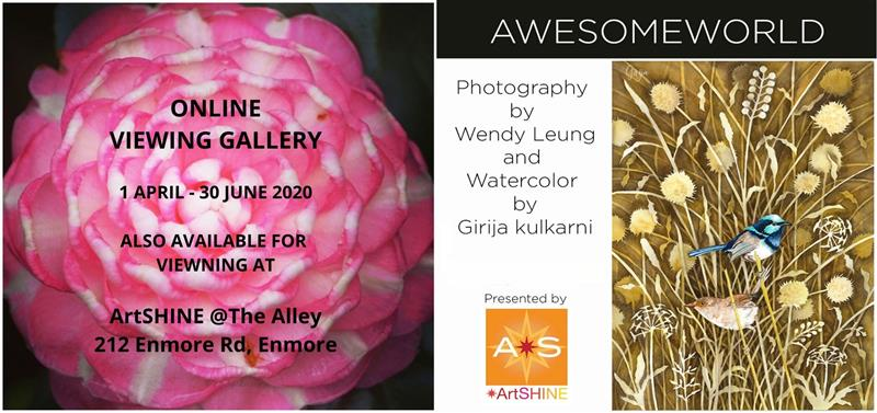 Awesome World' by Wendy Leung & Girija Kulkarni: ONLINE EXHIBTION