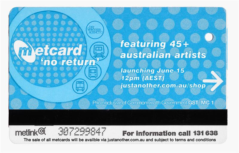 Metcard: No Return
