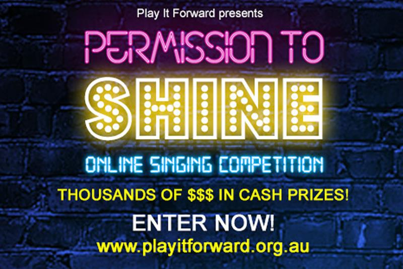 Calling All Music Theatre, Rock and RnB Singers For Permission To Shine