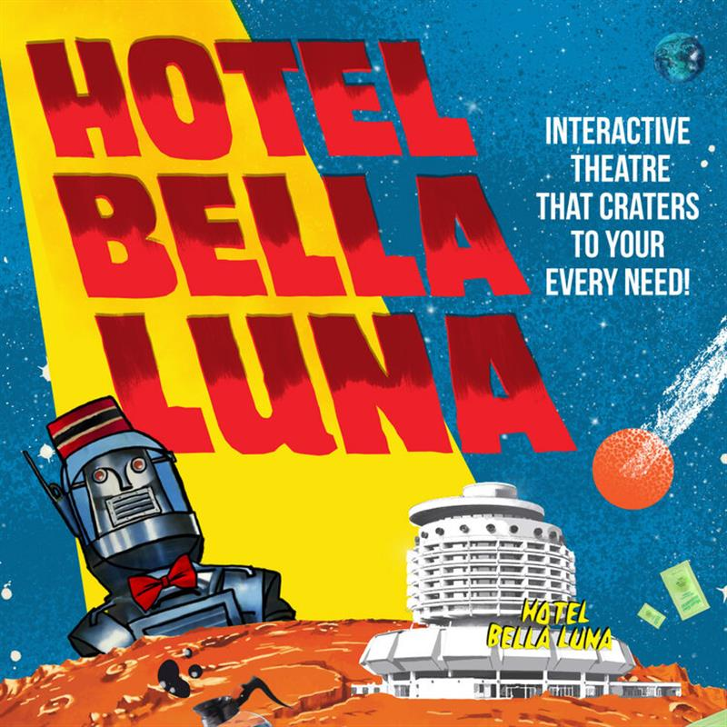 Step into an interactive adventure at HOTEL BELLA LUNA