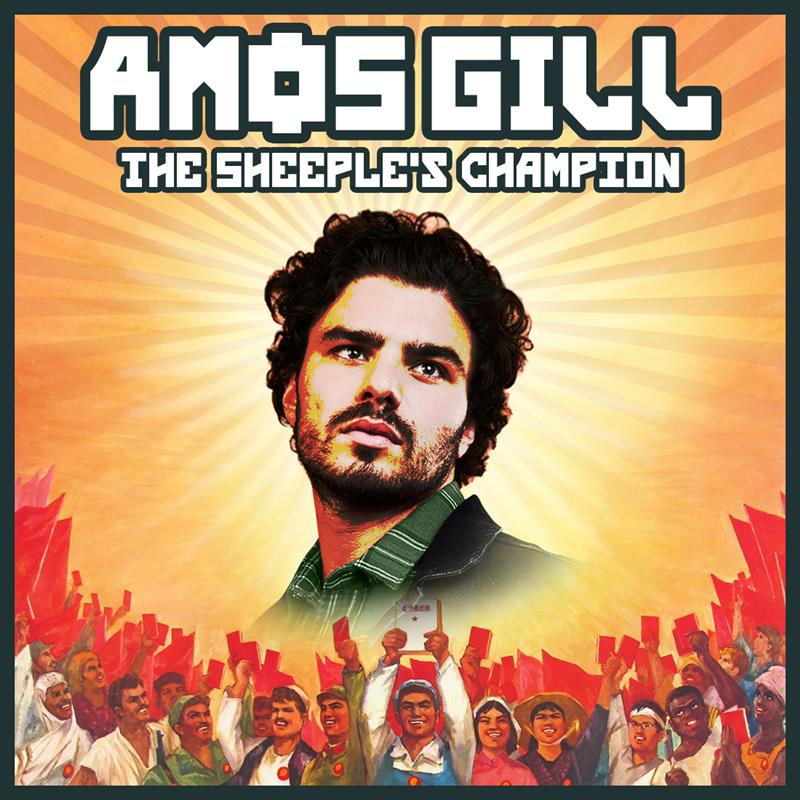 World-Conquering Comedian Amos Gill brings brand new show