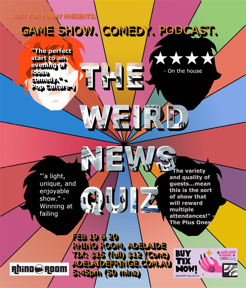 Just For Funny - The Weird News Quiz