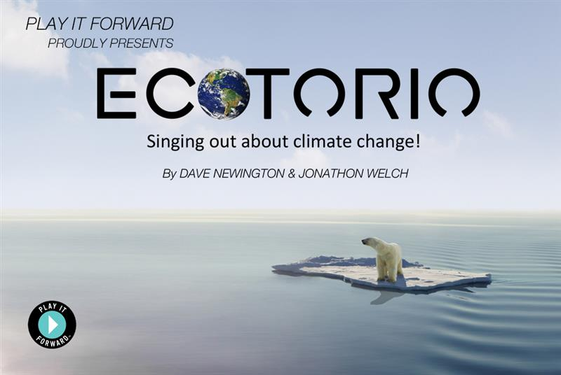 Be Part of a World Premiere. ECOTORIO
