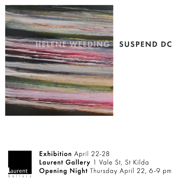 Suspend DC - Art Exhibition by Helene Weeding